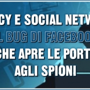 privacy e social network il bug di facebook