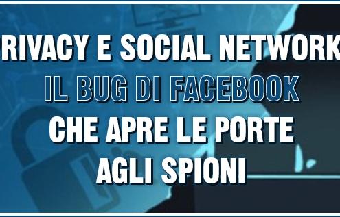 privacy e social network il bug di facebook