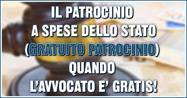 patrocinio a spese dello Stato a Napoli