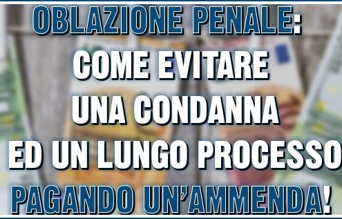 Oblazione penale
