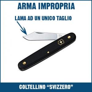 cosa si rischia a portare un coltello con sé
