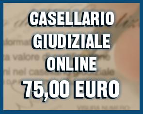 casellario giudiziale urgente online