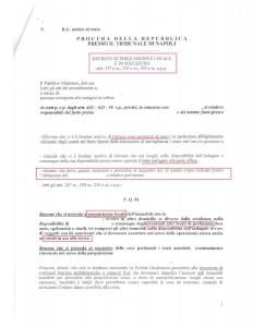 decreto perquisizione pm
