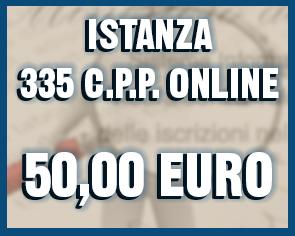 335 c.p.p. online