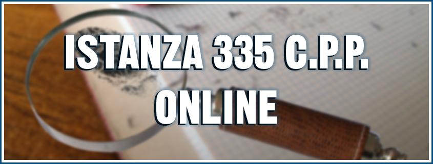 istanza 335 cpp online