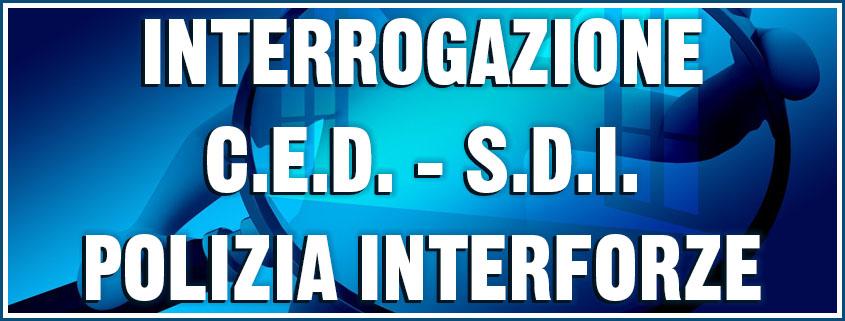 interrogazione CED interforze
